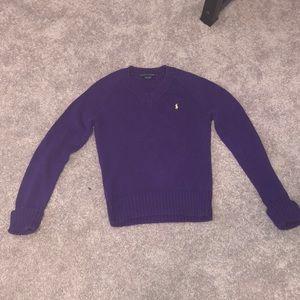 Purple Ralph Lauren Polo Sweater in size M